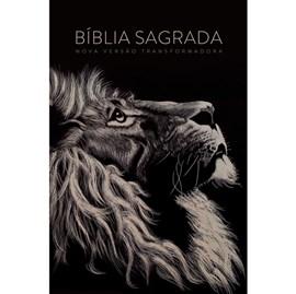 Bíblia Sagrada Lion Head | NVT Letra Grande | Capa Soft Touch Leão