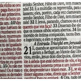 Bíblia Sagrada Luz Com Harpa Avivada e Corinhos | Letra Grande | RC | Capa Dura