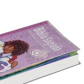 Bíblia Sagrada Mig e Meg | Letra Normal | NTLH | Capa Ilustrada Rosa