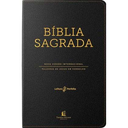 Bíblia Sagrada NVI | Leitura Perfeita | Luxo Preta C/ Índice
