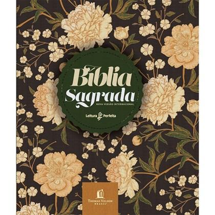 Bíblia Sagrada | NVI | Letra Normal | Anote Capa Soft Flores