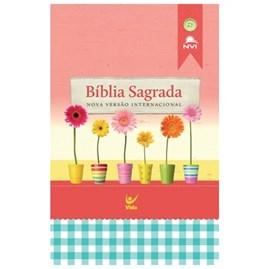 Bíblia Sagrada | NVI Letra Normal | Brochura (Capa Feminina)