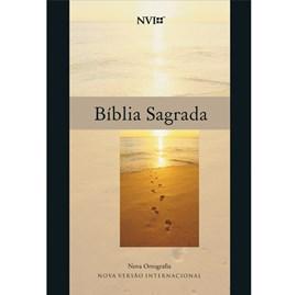 Bíblia Sagrada | NVI | Letra Normal | Capa Bruchura Neutra