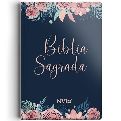 Bíblia Sagrada | NVI | Letra Normal | Capa Rosas Especial