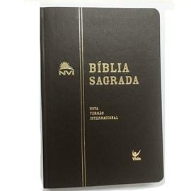 Bíblia Sagrada | NVI Letra Normal | Semi Luxo Marrom