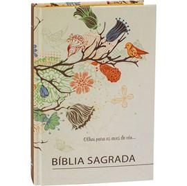 Bíblia Sagrada para Evangelismo Passaro | ARC | Letra Normal | Capa Dura