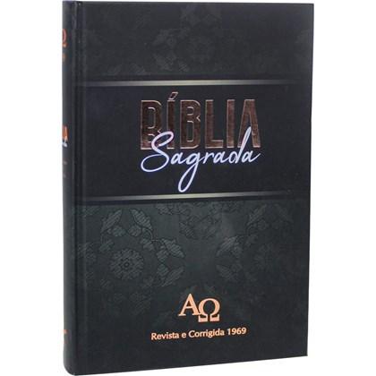 Bíblia Sagrada RC 1969 | ARC | Letra Normal | Capa Dura Ilustrada Preta