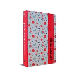 Bíblia Sagrada RC Pink Floral | Capa Especial