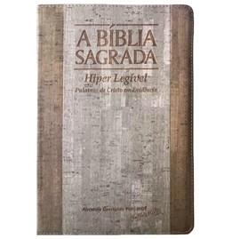 Bíblia Sagrada RCM | ACF | Letra Gigante | Capa PU Luxo Bicolor