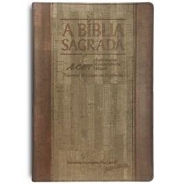 Bíblia Sagrada RCM | ACF | Letra Gigante | Capa PU Luxo Bicolor C/ Índice