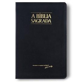 Bíblia Sagrada Slim   ACF   Letra Grande   Capa Preto Luxo C/ Índice