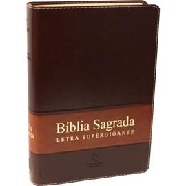 Bíblia Sagrada Supergigante NAA | Capa Marrom Luxo