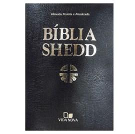 Bíblia Shedd | ARA | Letra Normal | Capa Corvetex Preto