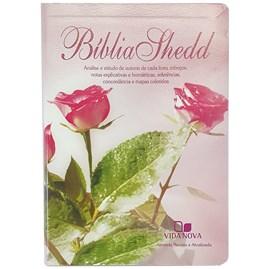 Bíblia Shedd | ARA | Letra Normal | Capa Feminina