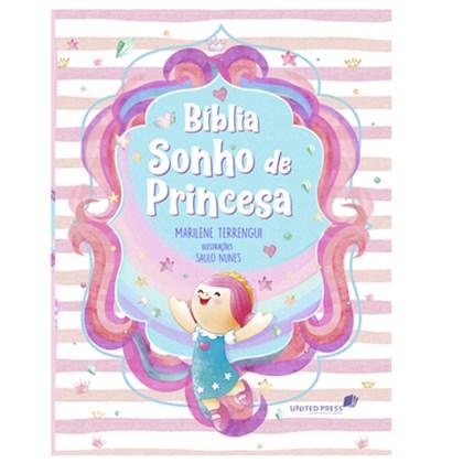 Bíblia Sonho de Princesa   Capa Ilustrada