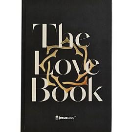 Bíblia The Love Book Coroa Jesus Copy | NAA | Letra Normal | Capa Dura