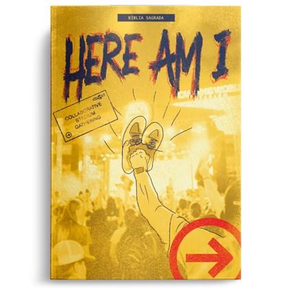 Bíblia The Send | Here I Am | NAA Capa Dura