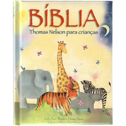 Bíblia Thomas Nelson Para Crianças   Capa Almofadada