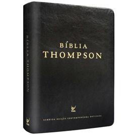 Bíblia Thompson | AEC | Preto Sintético Luxo