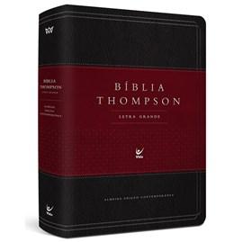 Bíblia Thompson de Estudo | AEC | Letra Grande | Capa Luxo Vinho