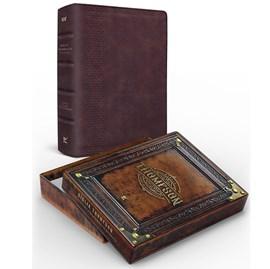 Bíblia Thompson do Colecionador |AEC | Letra Grande | Capa Luxo Marrom