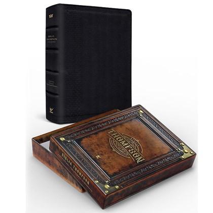 Bíblia Thompson do Colecionador | AEC | Letra Grande | Capa Luxo Preta