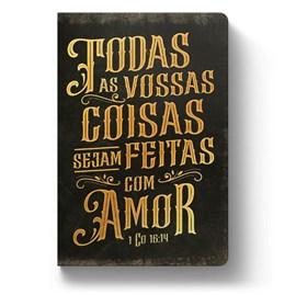 Bíblia Todas as Coisas | ACF | Letra Grande | Capa Dura Soft Touch