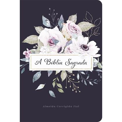 Bíblia Violetas   ACF   Letra Grande   Capa Dura Soft Touch