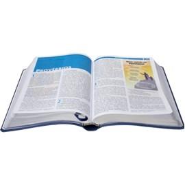 Bíblia Visual Com Infográficos | NTLH | Azul