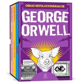 Box As obras revolucionárias de George Orwell | Com 3 livros