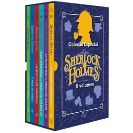 Box com 6 livros | Coleção Especial Sherlock Holmes