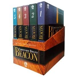 Box Comentário Bíblico Beacon | Antigo Testamento 5 Volumes (Brochura)