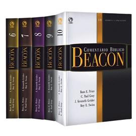 Box Comentário Bíblico Beacon | Novo Testamento 5 Volumes