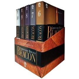 Box Comentário Bíblico Beacon | Novo Testamento 5 Volumes (capa dura)