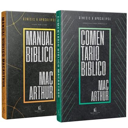 Box Comentário bíblico + Manual Bíblico MacArthur