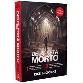 Box de Livros Deus Não Está Morto | Rice Broocks