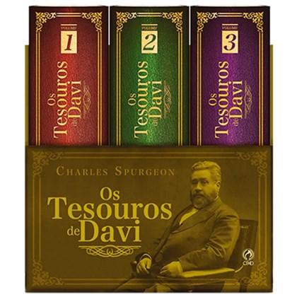 Box de Livros   Tesouros de Davi   Charles Spurgeon