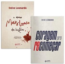 Box Deive Leonardo | Coragem pra Recomeçar + Amor Mais Louco Da História