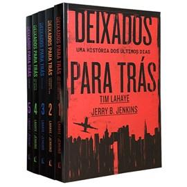 Box Deixados para Trás | 4 Livros | Tim LaHaye e Jerry B. Jenkins