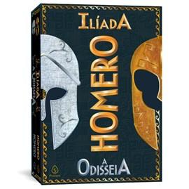 Box Homero com 2 Livros | Ilíada e A Odisseia