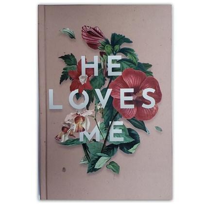 Caderno Moleskine He Loves Me