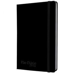 Caderno Pão Diário Notas | Capa Preta