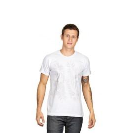 Camiseta Abençoado | Branca | Pecado Zero