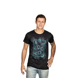 Camiseta Abençoado | Preta | Pecado Zero | G