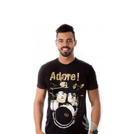 Camiseta Bateria | Preta | Pecado Zero | GG