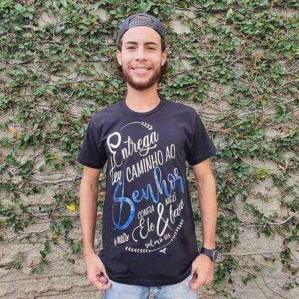 Camiseta Entrega | Preta | Pecado Zero