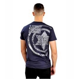 Camiseta Estrela de Davi Nova | Azul | Pecado Zero | G