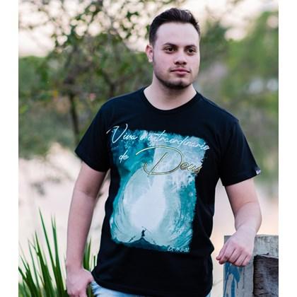 Camiseta Extraordinário | Preta | Pecado Zero | GG