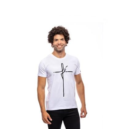 Camiseta Fé | Branca | Pecado Zero