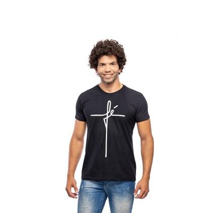 Camiseta Fé | Preta | Pecado Zero | GG